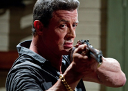 DHS- hitman and anti-hero Jimmy Bobo (Sly Stallone) in Bullet to the Head (2012)