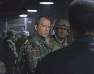 DHS- Bruce Willis and John Meier in The Siege (1998)