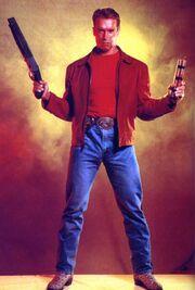 Last Action Hero- Arnold Schwarzenegger as Jack Slater