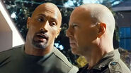 DHS- Dwayne The Rock Johnson and Bruce Willis in G.I. Joe Retaliation (2013)