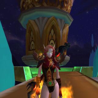 Das Feuer in der Nacht