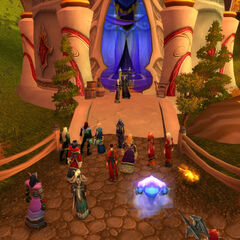 Die Elrennons gastieren mit anderen zur einer Vermählung im Hause Le'das (01.02.09).