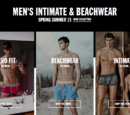 Men's intimate and beachwear spring summer 2015 campaign