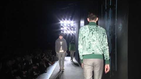 Diesel Black Gold AW 13 14 Menswear Fashion Show