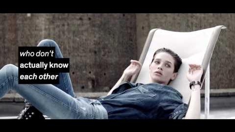 Sara Cummings Diesel Brand Film Denim