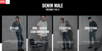 Men's denim fall winter 2015 preview