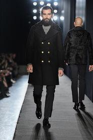 FW13-Milan-Mens-Black-Gold-catwalk-24