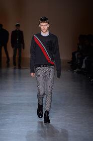 FW15-Milan-Mens-Black-Gold-catwalk-29