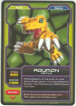Agumon DM-035 (DC)