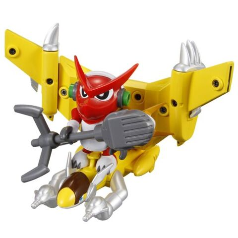 File:Shoutmon + Supersonic Sparrow toy.jpg