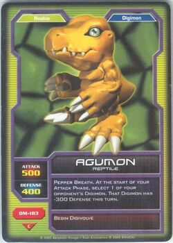 Agumon DM-183 (DC)