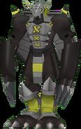 BlackWarGreymon dm