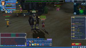 Digimon Masters Solomon (Screenshot)