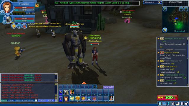 File:Digimon Masters Solomon (Screenshot).png