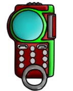 File:Yaza's Digivice (2nd Look) .png