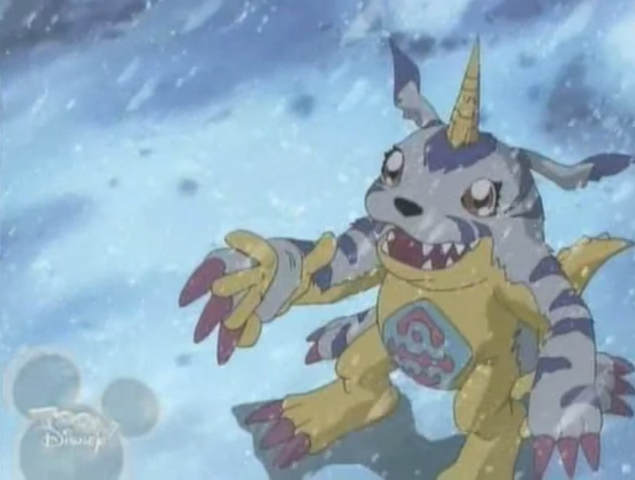 File:Gabumon hand anime.png