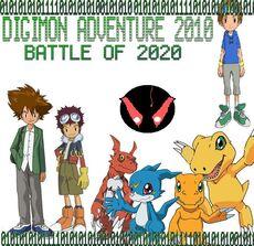 Fan-Digimon Adventure 2010 Battle of 2020 Poster