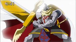 6-54 Knightmon Wise-Sword Mode