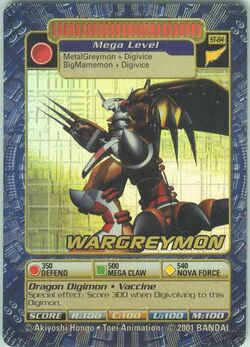 WarGreymon St-84 (DB)