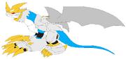 Imperialdramon Paladin Dragon Mode