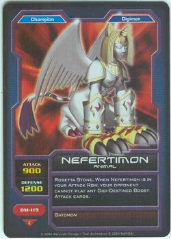Nefertimon DM-119 (DC)
