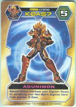 Agunimon DT-177 (DT)