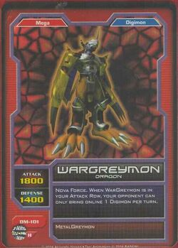 WarGreymon DM-101 (DC)