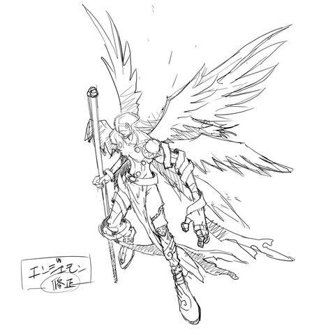 File:Digimon World Re-Digitize Angemon concept art.jpg