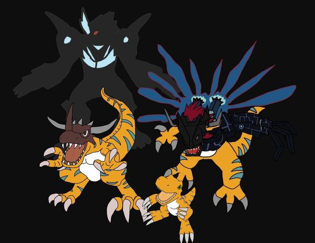 File:Agumon X (NW) Evolution Line.jpg