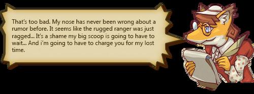 Rugged Ranger Rumors Text F