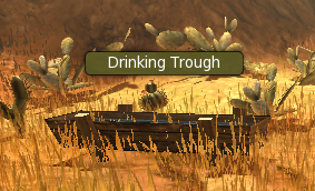 First quest - drink trough