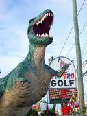 Old pro golf tyrannosaurus