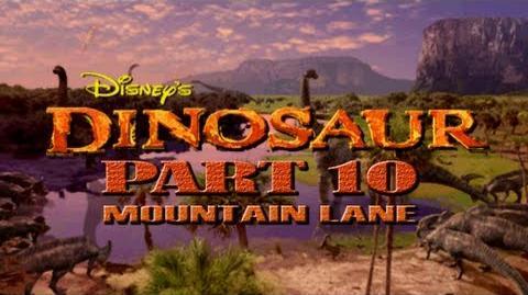 (PS1) Disney's Dinosaur - Part 10 - Mountain Lane
