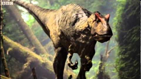 The Smell of Prey - Walking with Dinosaurs in HQ - BBC