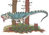 Jurassic Park bull t rex by Hellraptor