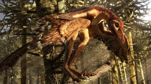 Sinornithosaurus A poisonous bite - deadly day or night - Planet Dinosaur - BBC