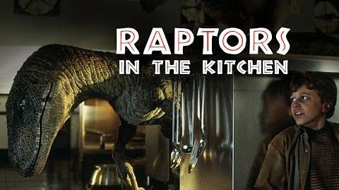 JURASSIC PARK - Raptors in the Kitchen Rehearsal - BEHIND-THE-SCENES