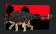 Jurassic Park ankylosaurus updated 2014 by Hellraptor-d1uq3fs