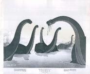 Walt Disney's Fantasia brontosaurus photo