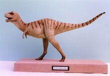 Xenotarsosaurus Sculpture