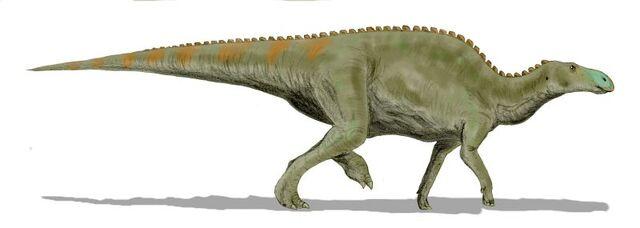File:Edmontosaurus BW.jpg