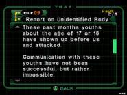 Report on unidentified body (dc2 danskyl7) (2)