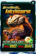 Super Rare Ankylosaurus