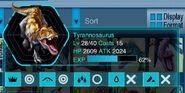 Event Exclusive Rare Trex Info Icon