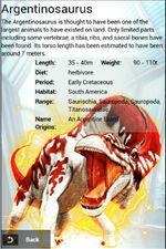 Album SS Rare Argentinosaurus