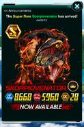 Super Rare Scorpiovenator