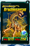 Super Rare Brachiosaurus