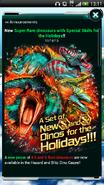 Four New S+ and S Rare Dinos