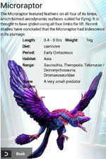 Album Egg Super Rare Microraptor