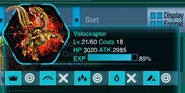 Velociraptor Info Icon